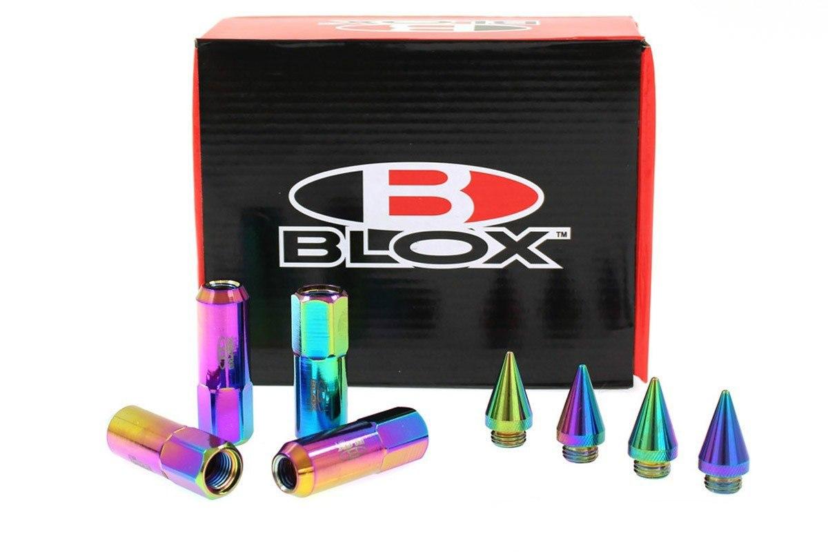Nakrętki Blox Replica 60mm M12x1.5 Neo szpic - GRUBYGARAGE - Sklep Tuningowy